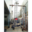 Aluminum Tiltable Trolley Tower Ladder with Extended Platform