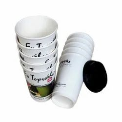 White 65ml Paper Tea Cup for Event