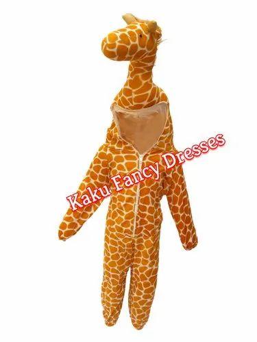 Brand New Giraffe Animal Costume Kit