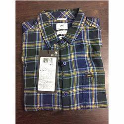 Cotton Casual Wear Men Check Shirt