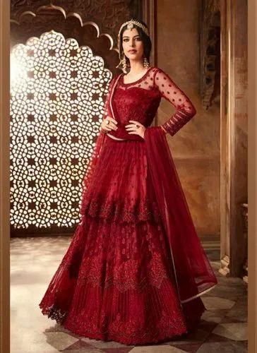 8f957ad35c Anarkali Suits - Floor Length Anarkali Suits Manufacturer from Surat