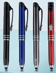 Executive Auto Torch Pen with Stylus