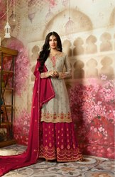 Designer  Embroidery Work Salwar Suit