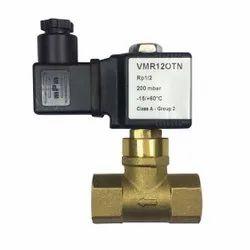 Electrogas safety solenoid valves