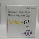 Steltog-G1 Glimepiride & Metformin Hydrochloride Tablet