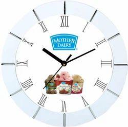 Analog PVC Plastic Designer Promotional Wall Clock