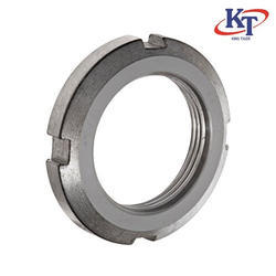 KT Mildd Steel KM Lock Nut, Size: 10mm