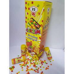 Gummy Candy Chikgum Chewing Gum Bottle, Packaging Type: Box
