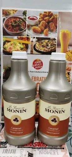 Monin Caramel Sauce Packaging Size Plastic Bottle 1 89 Litre Rs 1550 Piece Id 22056247291