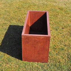 Rectangle Concrete Planter