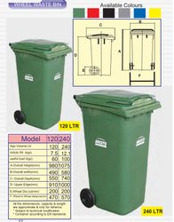 Wheel Dust Bin 120 Ltr