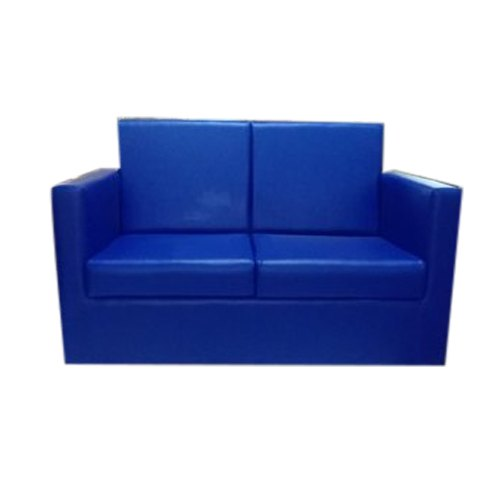Blue Two Seater Office Sofa, Seating Capacity: 2 Seater