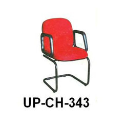 Medium Back Red Visitor Chair