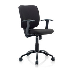 Silverline Black Chair