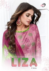 SC Liza Fourth and Fifth Edition Printed Cotton Casual Wear Dress Material Catalog