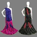 Tapeta Silk Handmade Bandhej Saree