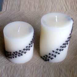 White Candle Navy