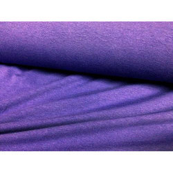 Purple Plain Knitted Fabric