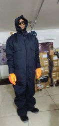 Cold Storage Suit With Hood Pant Coat Type