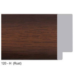 120-H Series Rust Photo Frame Moldings