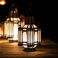 Gypsy White Medium Lamp