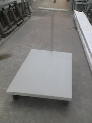 Heavy Duty Push Type Mild Steel Platform Trolley