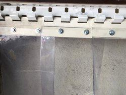 PVC Curtain Strip Bracket
