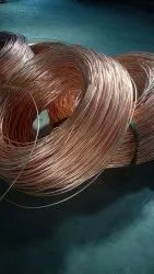 99.9% Brown Copper Millberry Scrap, For Electric Wire, Packaging Size: Roll