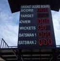 Rectangle Cricket Score Digital Board