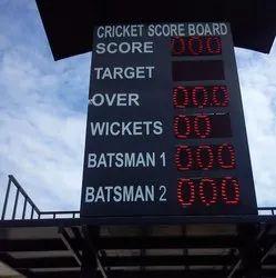 Cricket Score Digital Board