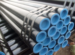 Black, Silver Round ASTM A106 A106M 13 Carbon Steel Seamless Pipes IBR