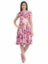Cottinfab Women's Floral Printed Dress