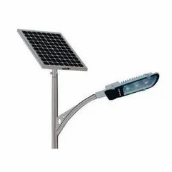 18 W Semi Integrated Solar LED Street Light, With Pole And Installation