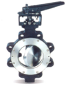 Double, Triple Eccentric Butterfly Valve