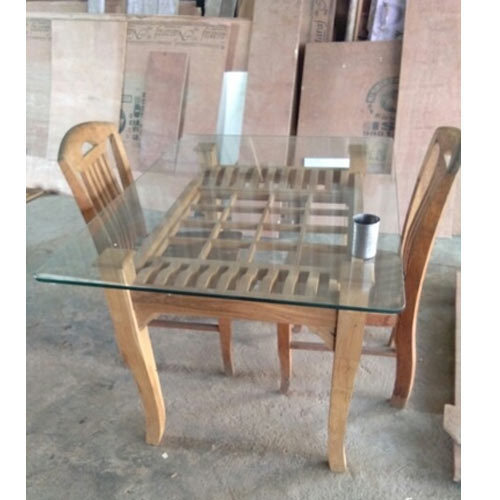 teak wood table. Teak Wood Dining Table L