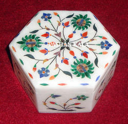 Inlay Marble Handmade Box