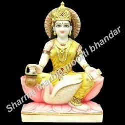 Saraswati Maa Marble Moorti
