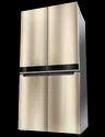 Stainless Steel Whirlpool W Series 4 Door 677 Ltrs Crystal Mocha Refrigerator