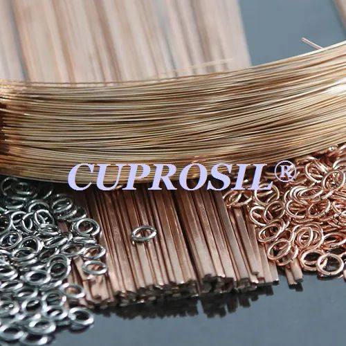 CUPROSIL 15P Silver Brazing Alloys