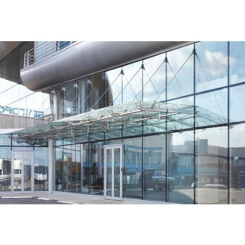Toughened Glass Canopy