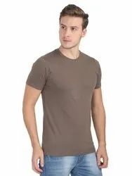 Cotton Plain Mens Round Neck T Shirt