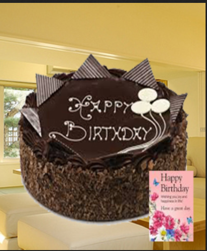 Birthday Chocolate Cakes At Rs 1159