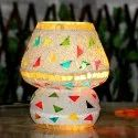 Brahmz Modern Glass Mosaic Table Lamp Shade For Home Office And Study G86, In New Delhi