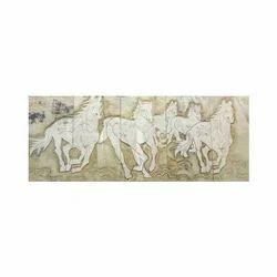 Horse Tile Murals