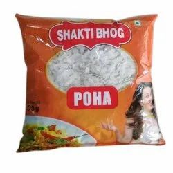 Indian White Poha Shakti Bhog Poha, Packaging Type: Packet, High in Protein