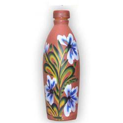 Earthen Water Bottle (1 Liter )