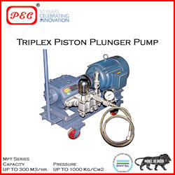 Triplex Piston Plunger Pump - PORTABLE