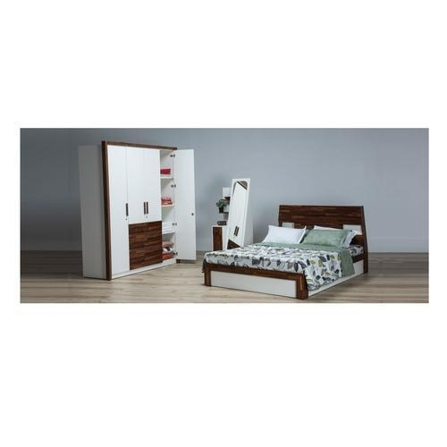 Durian Mark Hydraulic King Size Bed With Headboard Storage