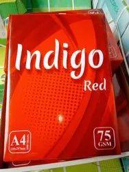 Silverton Indigo Red 75 Gsm A/4