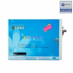 Manually Rotatable Sanitary Napkin Dispenser